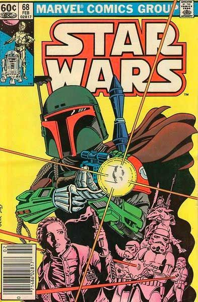 Boba Fett, Marvel Star Wars Comic Cover