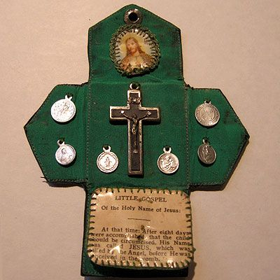 Postmark: Vintages of Los Gatos: Rosaries, Prayer Books & Religious Medals