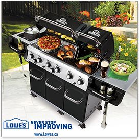 Wish you had $1000 for a dream BBQ? Enter Lowe's Outdoor Oasis Sweepstakes!