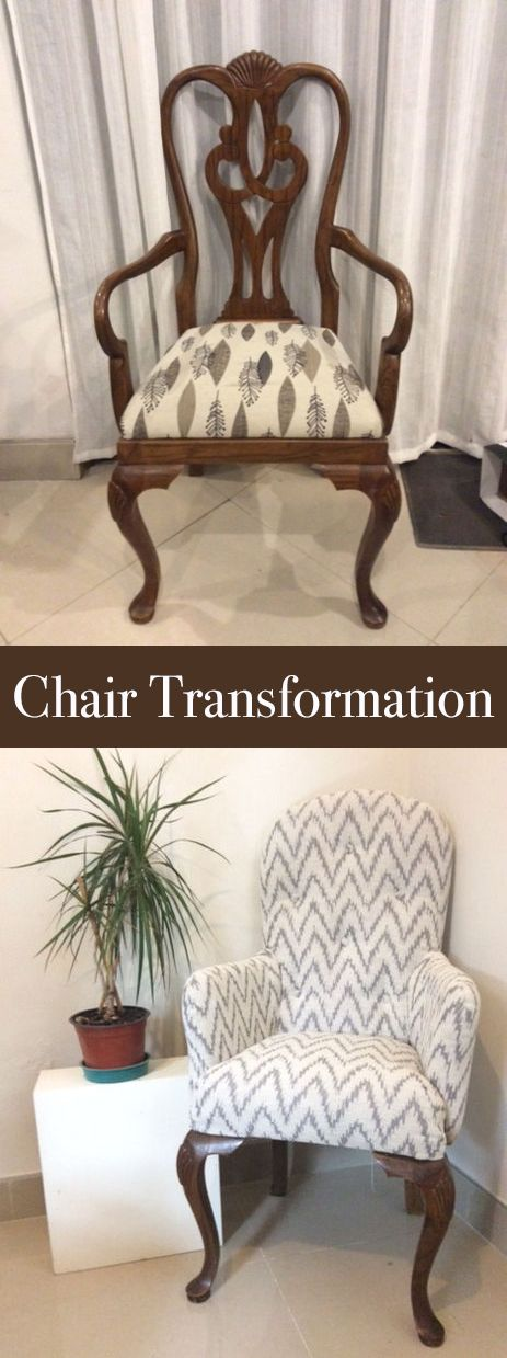 If you already have some chairs that need an upgrade, or you can find some at a thrift store or garage sale, you'll find this project useful.