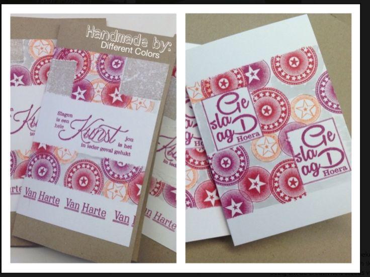 Arina's labels en kaarten.....