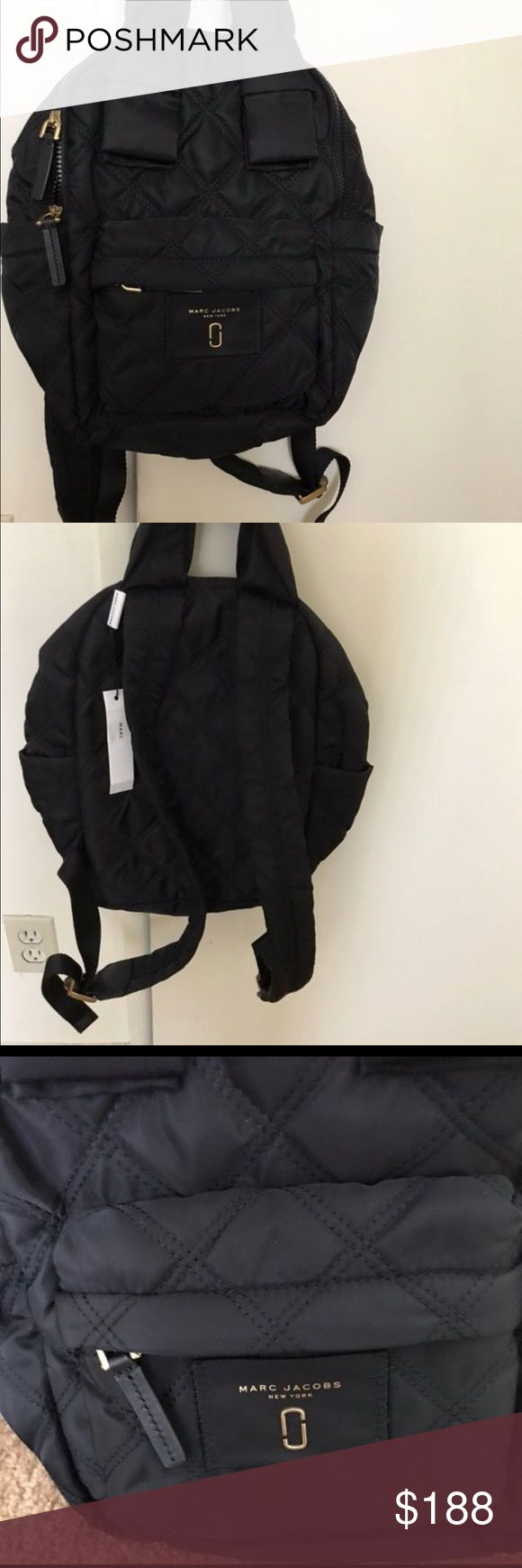 Marc Jacob backpack Brand new without tag nylon backpack Marc Jacobs Bags Backpacks