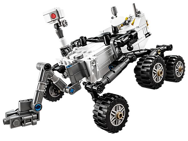 Explore Martian landscapes with the amazing NASA Mars Science Laboratory Curiosity Rover!