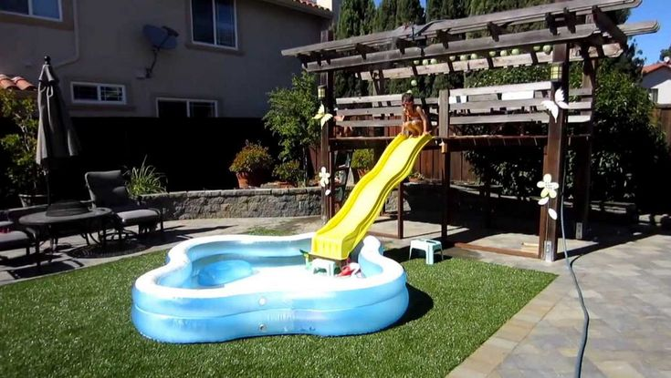 17 Best Ideas About Above Ground Pool Slide On Pinterest Pool Slides Ground Pools And Pool Decks