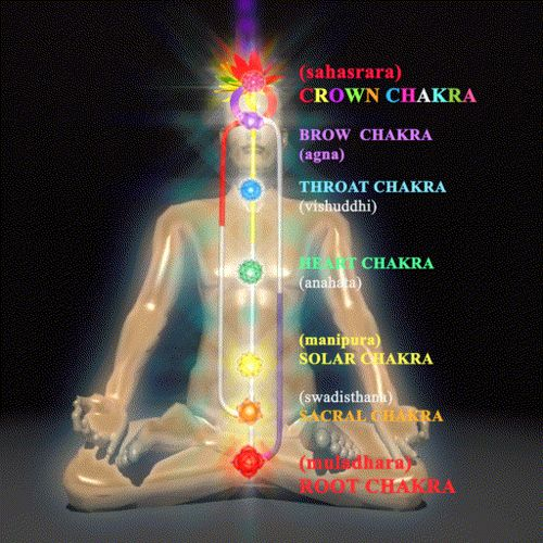 Image result for human body and Chakras