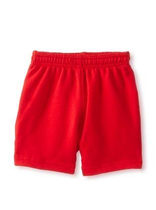 67% OFF American Apparel Kid's Flex Fleece Sweatshort (Red)