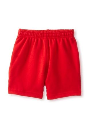 67% OFF American Apparel Kid's Flex Fleece Sweatshort (Red)