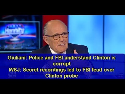 Hillary Clinton Latest News Today: Giuliani Police and FBI Rep  Chaffetz...