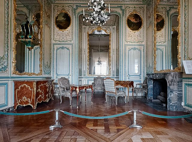 Cabinet interieur de la dauphine versailles interiors for Interieur kabinet
