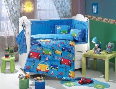 Комплект постельного белья Hobby Sateen Cars 100х150 (8693675946418)