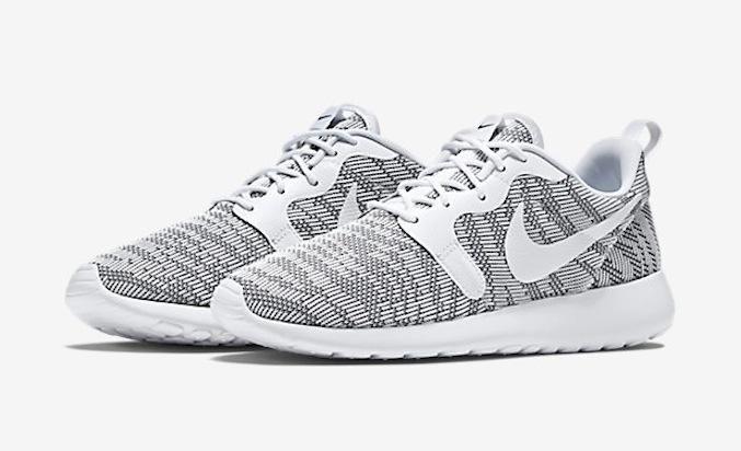 Nike Roshe One Grau Weiß