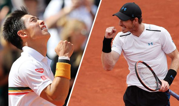 Andy Murray v Kei Nishikori LIVE: Latest French Open quarter-final updates from Paris