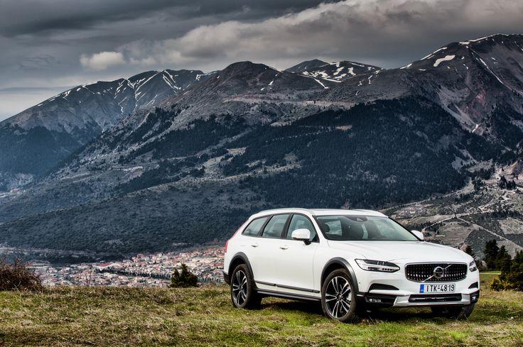 Το Volvo V90 Cross Country στην Ελλάδα