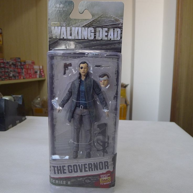 "18.98$  Watch now - http://alinkd.shopchina.info/go.php?t=32499262407 - ""KK01--McFarlane Toys AMC Walking Dead 5"""" Action Figure The Governor New"" 18.98$ #bestbuy"