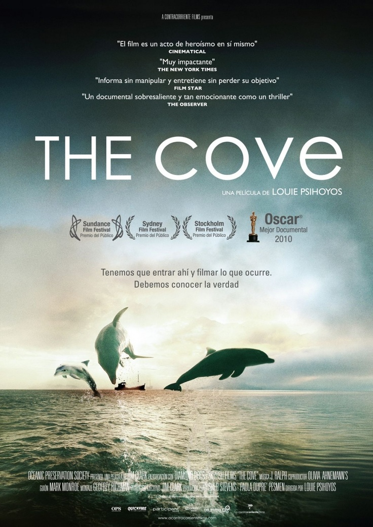 The Cove. Watch this before you take your kids to Sea World or plan to go swimming with dolphins. Learn about the thousands of dolphins that are slaughtered each year in Japan. Eyeopening.