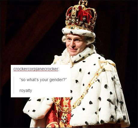 Are we talking about Groff or King George III?? The world will never know...