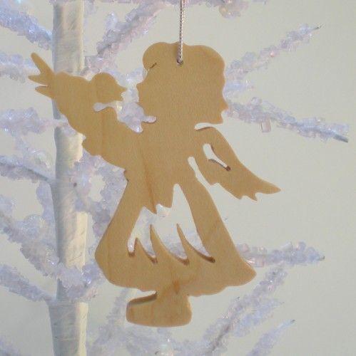 Ruční práce Anděl s Bird Ornament