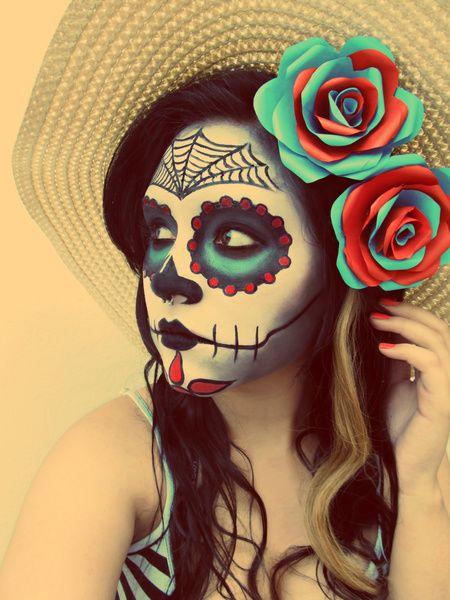 Candy loves día de los muertos! #dayofthedead http://www.makeupbee.com/look.php?look_id=64156