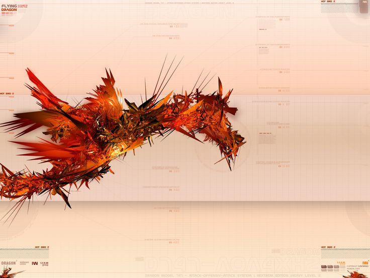 dragon wall by iuneWind.deviantart.com on @DeviantArt