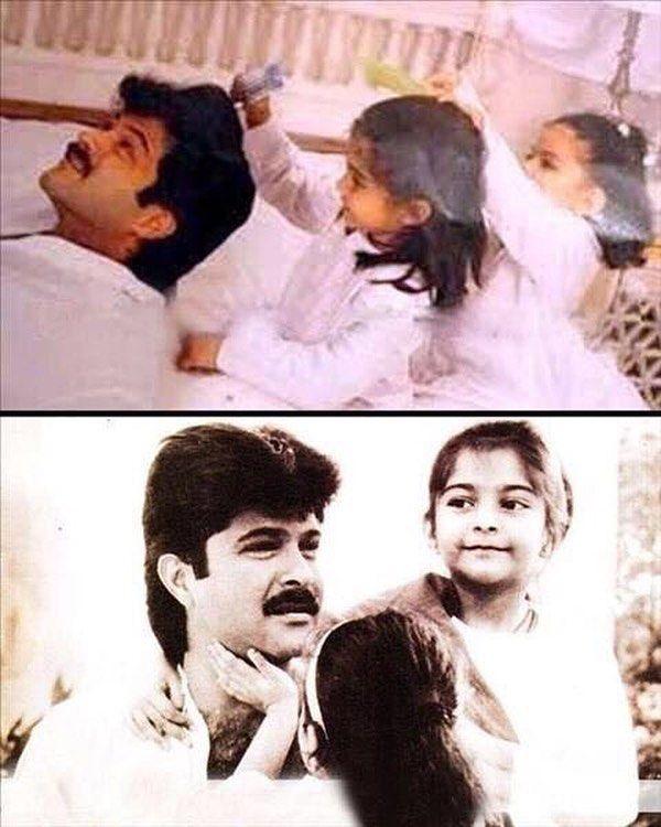 "1 Likes, 1 Comments - muvyz.com (@muvyz) on Instagram: ""#muvyz090117 #BollywoodFlashback #AnilKapoor #sonamkapoor #rheakapoor #fatherdaughter #instagood…"""