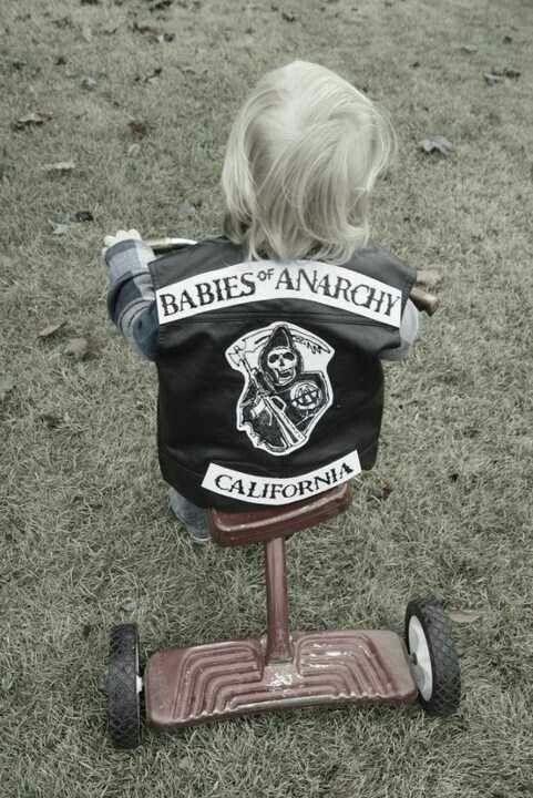 Sons of Son of Anarchy @Shawna Bergene feradi I think Jax needs one too! Lol