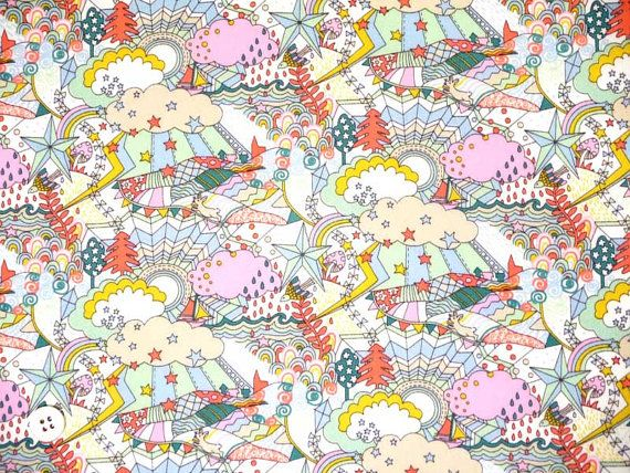 Japan Liberty tana lawn fabric  Land of Dreams B of Garden of