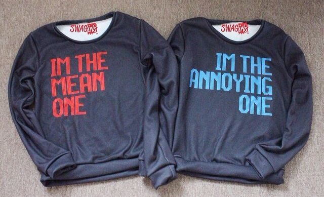 Mine and Hunter's Best Friend shirts Mean One ~ Hunter Annoying One ~ Me