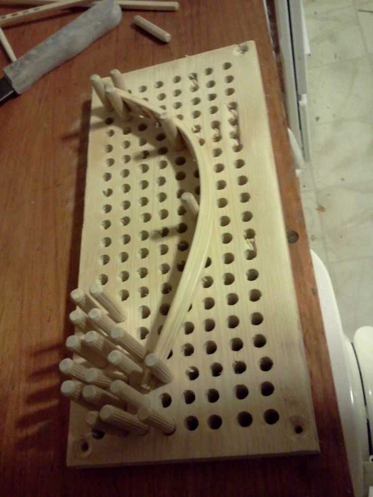 Bendwood jig: A jig to bend wood without having multiple specific shaped jigs.