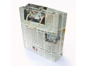 Cara Membuat Tas Dari Kertas Koran