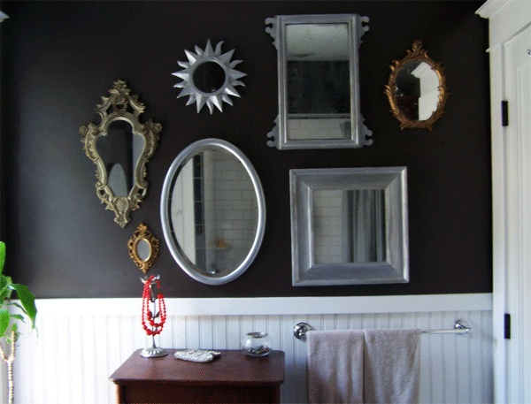 1000 ideas about mirror collage on pinterest mirrors for Mirror collage wall