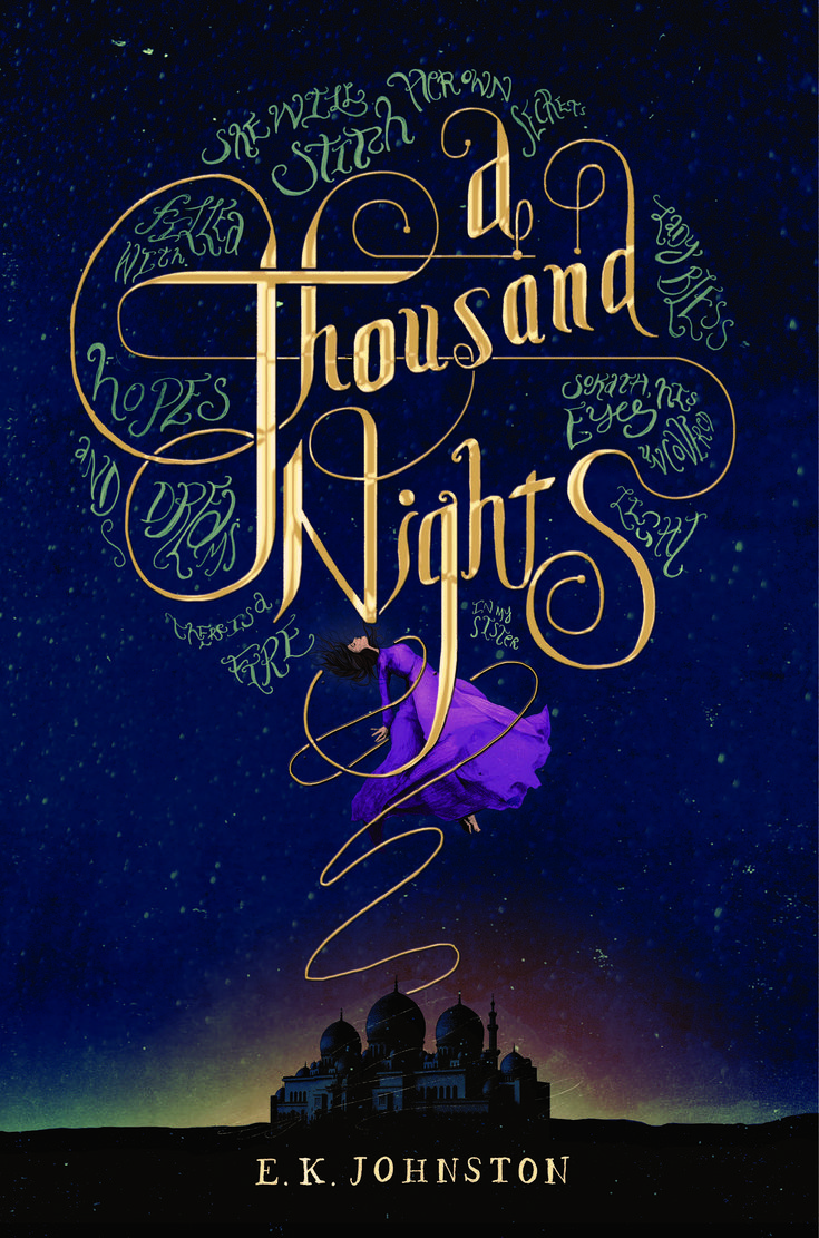 #coverreveal A Thousand Nights By E K Johnston