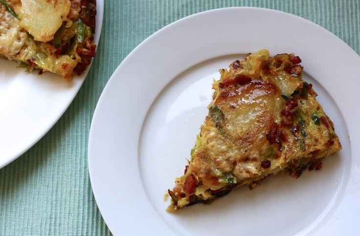 5 or less: Tortilla Lorraine