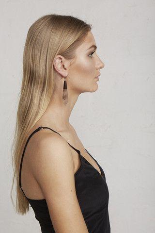 Marbled Drop Earrings – Limedrop