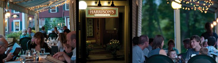 Harrison's - Cozy dining room, broad menu, great food.  Perfect for casual dining.#vt #stowe #dining