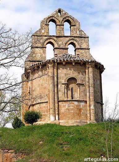 *SPAIN ~ El románico de La Bureba da sorpresas tan agradables como la Ermita de Los Barrios de Bureba
