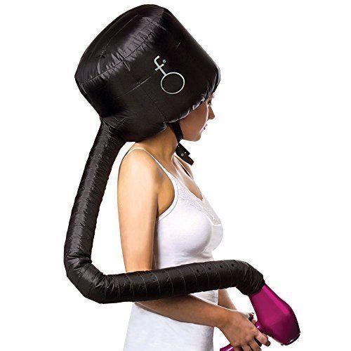Soft hood Bonnet Hair Dryer Attachment Portable Large 120 Ventilation Holes NEW #HairFl