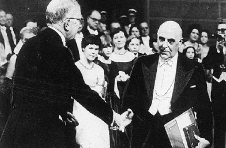 «Ανήκω σε μια χώρα μικρή»: Τα λόγια του Σεφέρη κατά την απονομή του βραβείου Νομπέλ παραμένουν διαχρονικά μέχρι και σήμερα