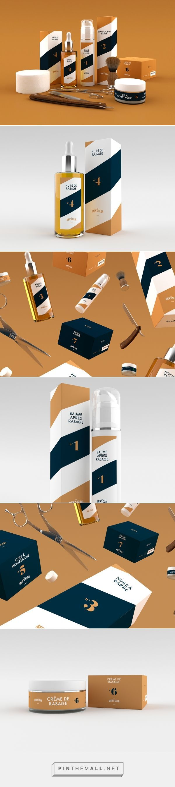 The Men's Club - Packaging - Barber Shop on Behance