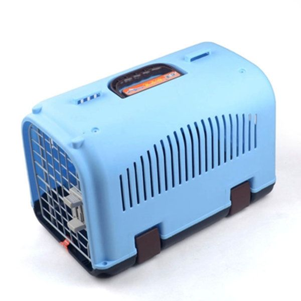 40 * 24 * 25cm Dog Cage Pet Carrier Pet Airways Box Checked The Cases Out Luggage Transport Cages
