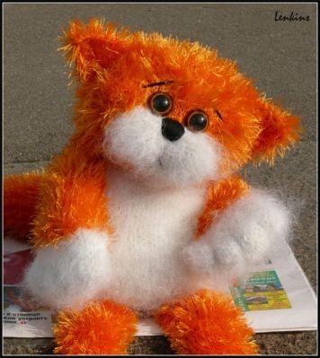 Описание вязание рыжего кота. Из интернета. / Мир игрушки / Вязаные игрушки. Мастер-классы, схемы, описание.