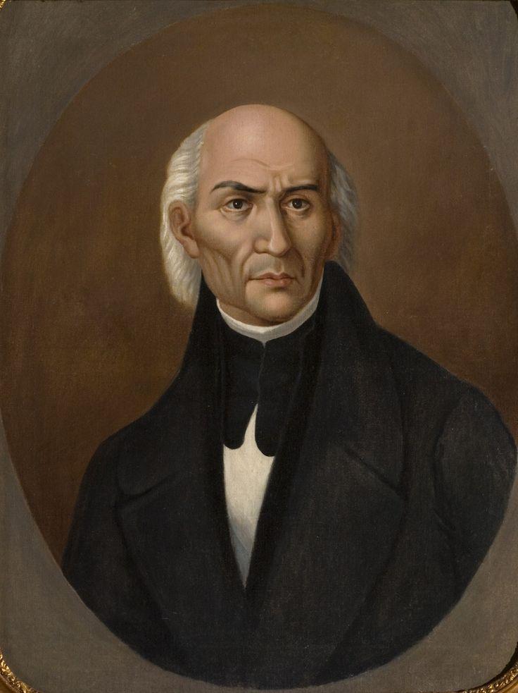 Retrato de Miguel Hidalgo y Costilla Autor L. Delgado / Author Siglo XIX / XIX Century Óleo sobre tela / Colección Museo de Historia Mexicana