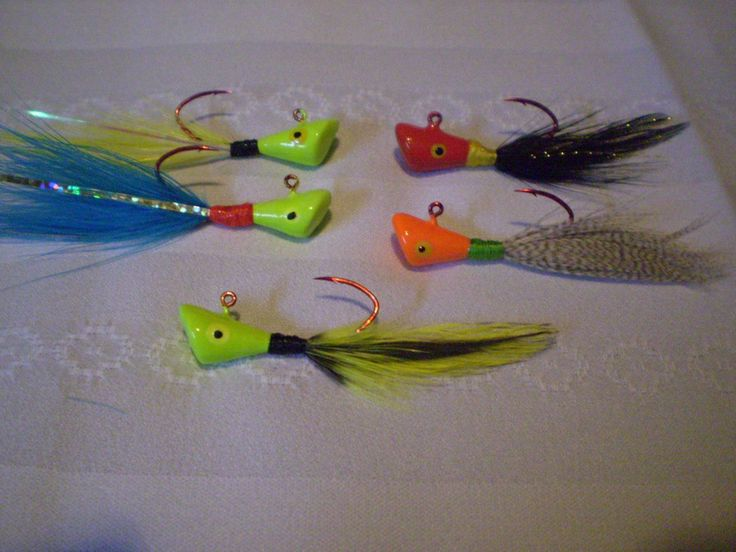 Crappie jigs gift set nightprowler64 custom crappie for Ice fishing lures for panfish