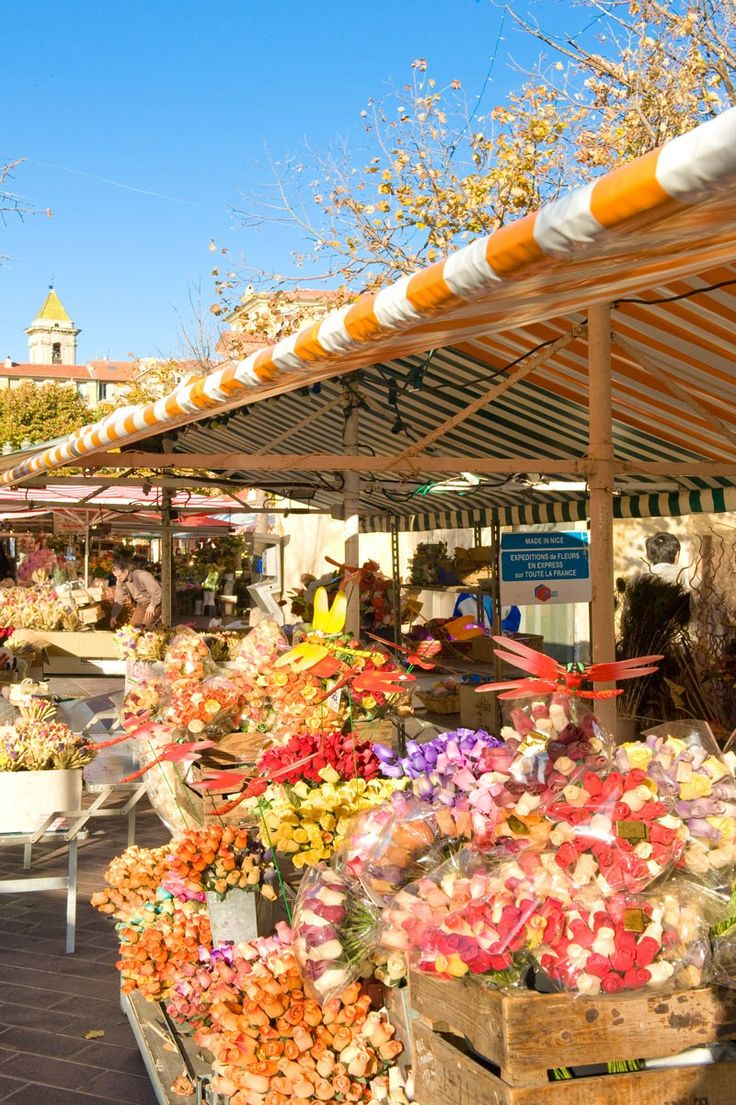 Marche au Fleurs Nice This is ranked by France's National Council for the Culinary Arts as being one of the country's special markets.    http://yabbedoo.com/deal.aspx?id=139637