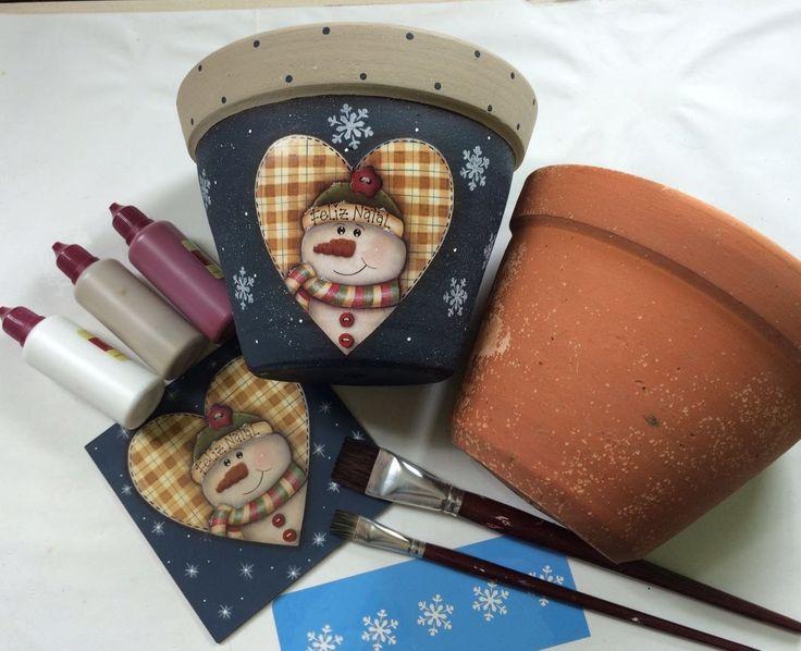 AO VIVO-Pintando com o ♥-Segundas-19h-Vaso De Cerâmica 29/08 - #17