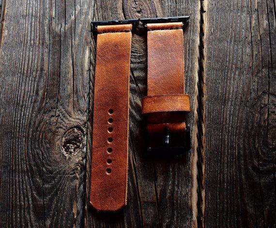 Vintage Apple Watch Band Strap 42mm /  Handmade by AliceMidnight