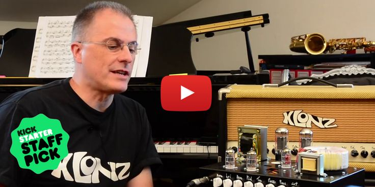 The Klonz Guitar Amp Kit lets you choose from six different modules and here you can see the Vintage version and its parts. It includes:  - Controller + Vintage Preamp + Power Amp - Power Supply  Klonz is a Kickstarter Staff Pick Project! Let's take a look here: http://kck.st/1KrZUcD