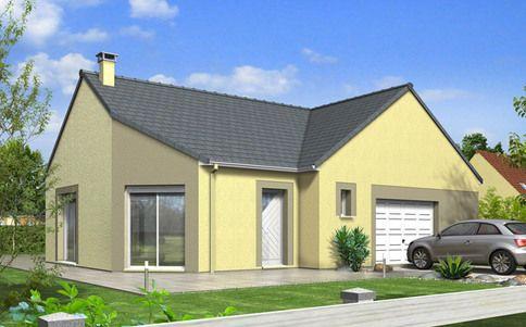 Maison moderne Mont-Revard - plan maison gratuit maison Pinterest - maison en 3d gratuit
