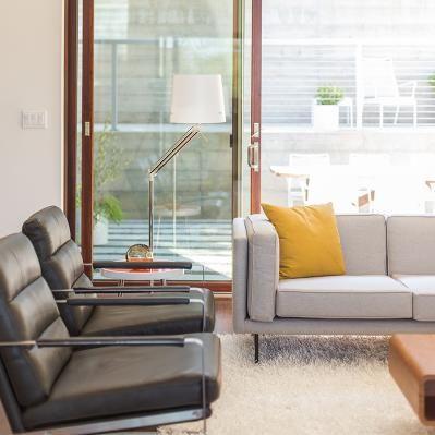 Sidebreeze - Sliding Glass Doors - Patio - Living Room
