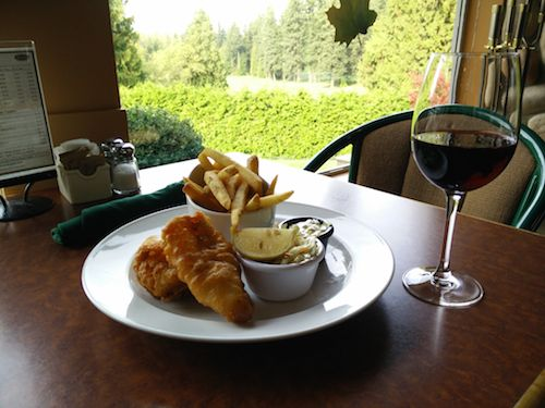 Fish and Chips from the new features menu at #WestwardHo! in #Vancouver!