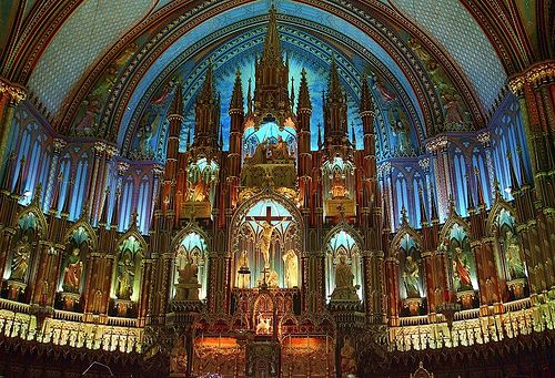 Interior of Notre Dame: Dame, Church, Paris France, Notre Dame Cathedrals, Places, Photo, Interiors Lights, Montreal Canada, Notre Dame Paris